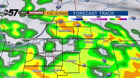 Warm through midweek with storm chances