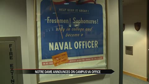 Notre Dame offers new office for military connected students