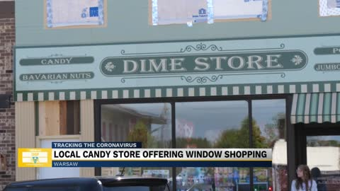 Wakarusa Dime Store travels back in time with window shopping events