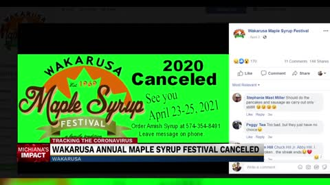 No maple syrup festival leaves Wakarusa economy reeling