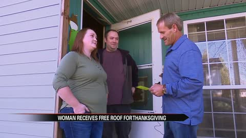 Walkerton woman surprised with Thanksgiving gift