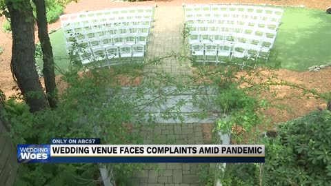 Wedding venue defends business amid COVID struggles