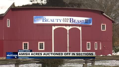 """We're ready for someone with new energy""; Amish Acres auctions off for over $4 million"
