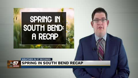 Cold, rainy Michiana Spring 2020 comes to an end