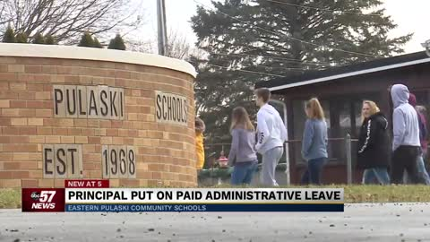 Second Eastern Pulaski School Principal placed on paid administrative leave citing misconduct