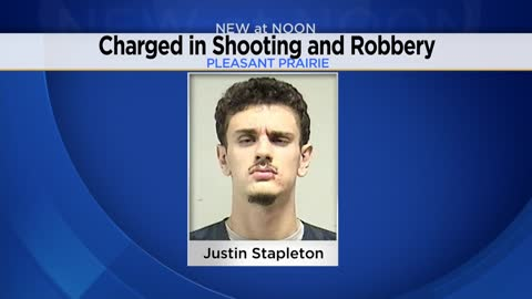 19-year-old Pleasant Prairie man charged with shooting and robbing 15-year-old