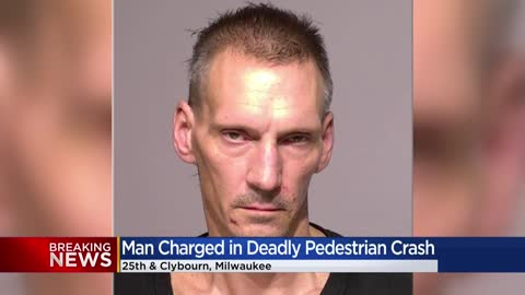 Man charged in fatal pedestrian crash near 25th and Clybourn