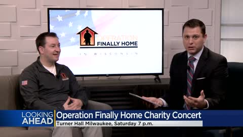 Concert to be held February 28 in Milwaukee to benefit Operation...