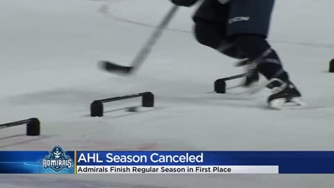 Admirals react to canceled season