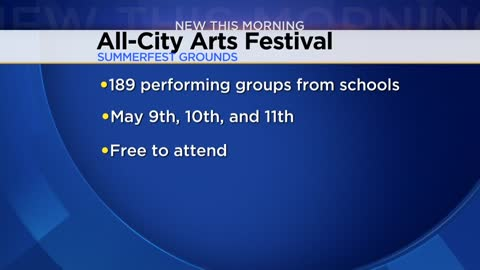 """All-City Arts Festival"" will give local students a chance to perform at Summerfest grounds"