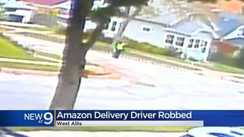 Driver delivering for Amazon carjacked near 94th and Lapham in West Allis