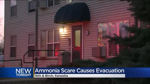 Kenosha apartments evacuated after worker pours ammonia down drain
