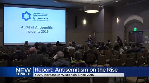 Report: Anti-Semitism on the rise in Wisconsin