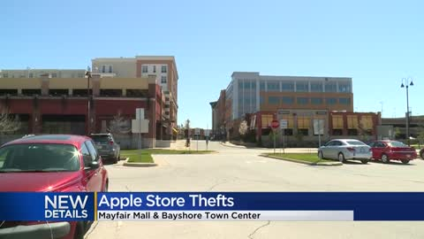 More than $16K worth of Apple products stolen on the same day...