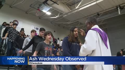 Catholics across SE Wisconsin join in prayer to celebrate Ash...
