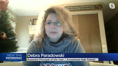 Arrowhead High School assistant principal honored with national award