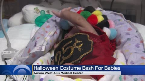NICU babies dress up for Halloween at Aurora Health Care