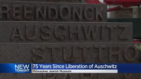 75th anniversary of liberation of Auschwitz prompts reflection on present-day anti-Semitism