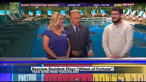 Bay View resident takes home more than $16,000 on Wheel of Fortune