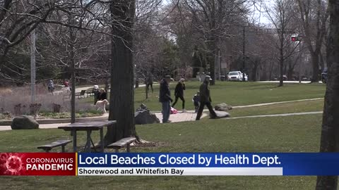 North Shore area beaches ordered closed by health department...
