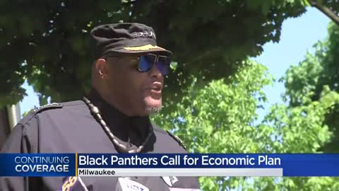Black Panthers of Milwaukee call on young people to 'flip the...