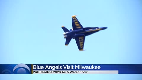Blue Angels to headline 2020 Milwaukee Air and Water Show