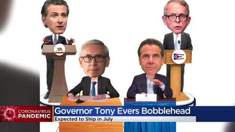 National Bobblehead Hall of Fame releases Gov. Tony Evers bobblehead