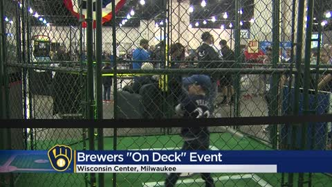 Fans of all ages gather for annual 'Brewers On Deck' event