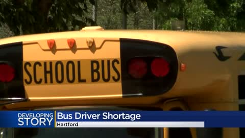 Bus driver shortage in Hartford forces cuts to routes
