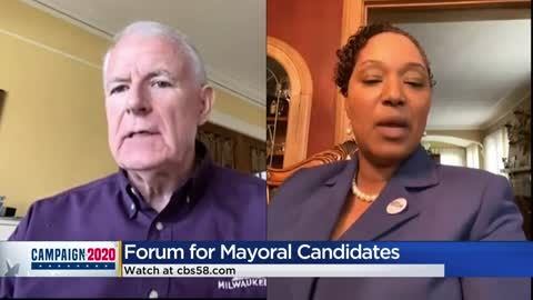 Mayoral Barrett, Senator Taylor participate in online candidate...