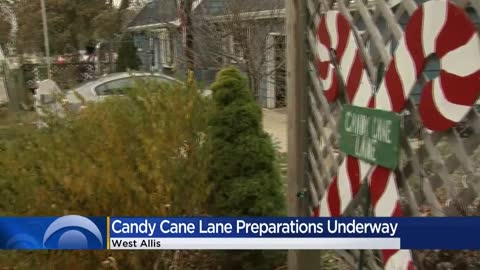 Candy Cane Lane homeowners prepare for annual holiday display, fundraiser in West Allis