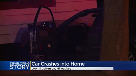 Police: Impaired driver crashes into home near Lyon and Jefferson