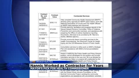 Mayor's pick for Interim health commissioner got $500,000 in consulting contracts from city