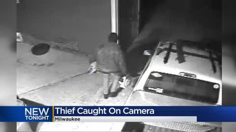 Video captures man stealing chainsaws from garage in Washington Heights neighborhood