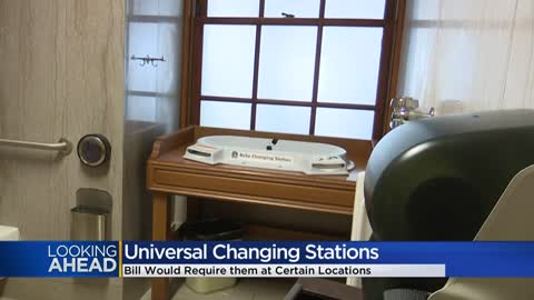 Brookfield mom advocates for son with special needs, inspires universal changing station bill