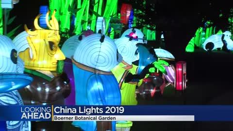 China Lights returning to Boerner Botanical Gardens in Fall 2019