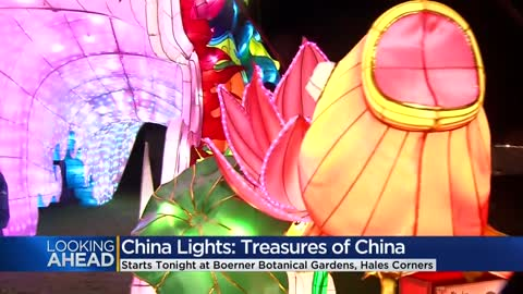 China Lights returns to Boerner Botanical Gardens today