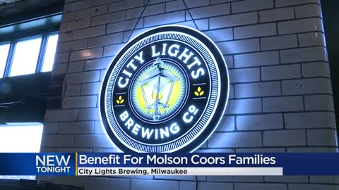 City Lights Brewing Co. holds benefit for families of Molson Coors shooting victims
