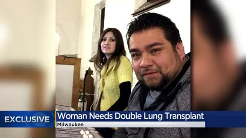Community rallies behind Milwaukee woman in need of double lung transplant
