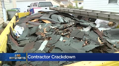 Criminal charges for bad contractors