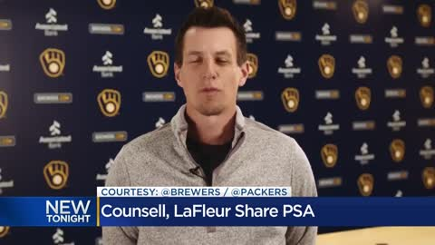 Craig Counsell, Matt LaFleur send message to fans about staying healthy during COVID-19 outbreak