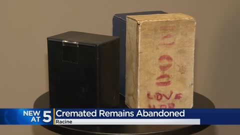 Three different cremains of loved ones found abandoned in Racine...