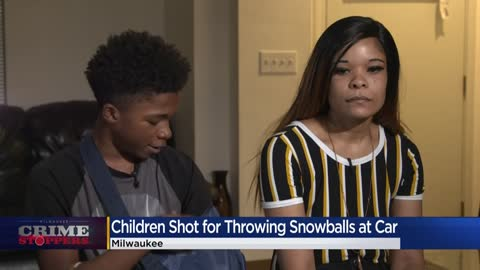 Crime Stoppers Crime of the Week: Kids shot by driver after throwing snowballs at cars