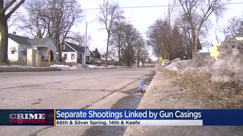 Crime Stoppers Crime of the Week: Separate Milwaukee shootings linked by bullet casings