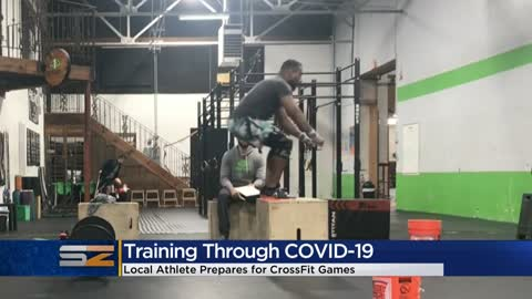 Local CrossFit athlete describes training for games during coronavirus pandemic