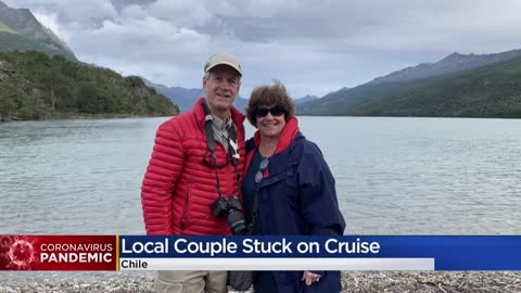 Greendale couple, friends stuck on board cruise ship in Chile