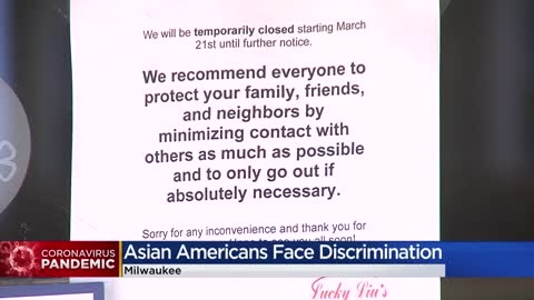 Asian Americans victims of xenophobic attacks because of COVID-19