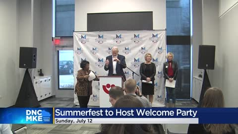 DNC organizers plan delegate welcome party on Summerfest grounds