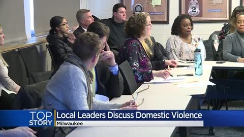 'We have a severe problem:' Milwaukee leaders hold roundtable...