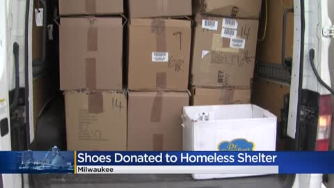 Random Acts of Kindness Day: Stan's Fit Your Feet donates shoes,...